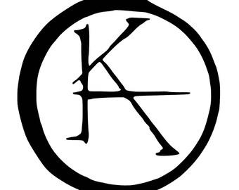 Stephen King / Dark Tower - Ka vinyl sticker