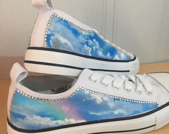 Rainbow and clouds size 4