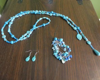 bold peculiar turquoise set