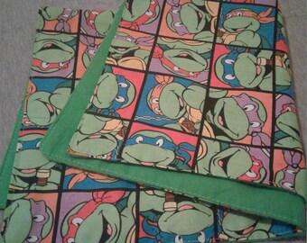 Teenage Mutant Ninja Turtle Lovey Blanket- TMNT Security Blanket