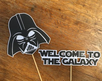 Welcome to the galaxy & Darth Vader