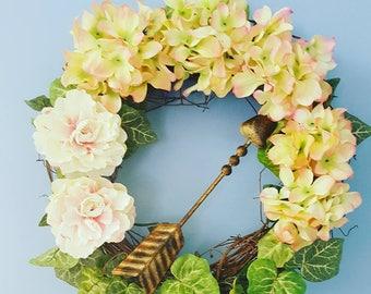 Summer in the Garden Wreath