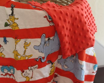 Dr. Seuss Baby Blanket