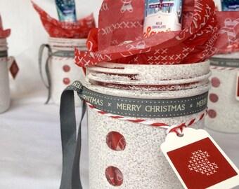 Christmas sweet jars