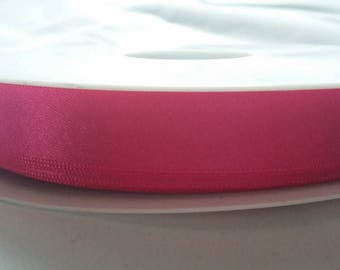 15mm Double Satin Ribbon 3 colours pink red dark royal blue