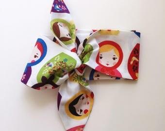Babushka - Rosie Wrap Headband