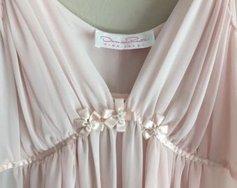 Soft pink flowy nightie