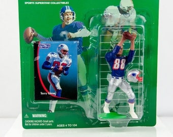 Starting Lineup NFL 1998 Terry Glenn Action Figure New England Patriots