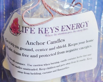 Anchor Reiki Infused Candles