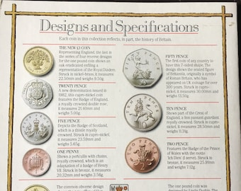 UK Royal Mint uncirculated coin collection