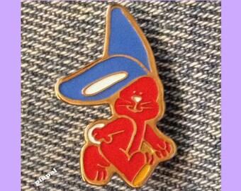 Rabbit Brooch Pin ~ Chewie Newgett Company by Stewart Moskowitz ~ 1982 Vintage