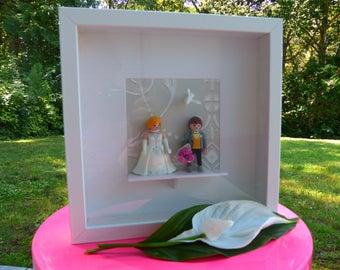 """Playmobil frame """"Married"""""""