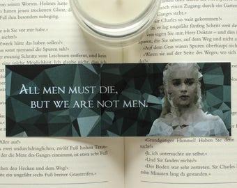Daenarys Targaryen Game of Thrones Bookmark