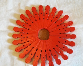 Poppy Red Double-style Trivet
