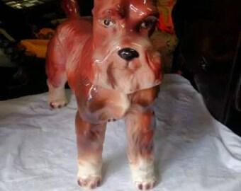 Cane in ceramica vintage /  Vintage ceramic dog