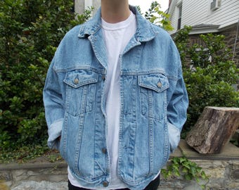 VINTAGE 90s Gap Denim Jacket Size M