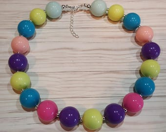 Summer time chunky necklace