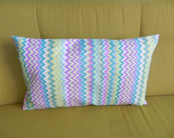 Chevron patterned Cushion cover