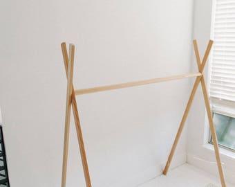 Handmade Clothing Rack - Large