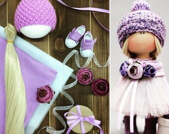 Set of Materials for creating dolls