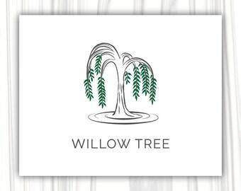Willow tree logo Design | Premade Logo Design | Photography Logo | Blog Logo | Boutique Logo | Business Logo | Wilow tree logo