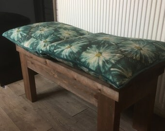 Solid Wooden Bench (2 Seater)