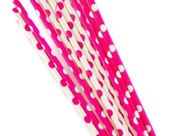 Straws, polka dots, table decoration, decorations, baby shower decoration, birthday, events, drinking straws