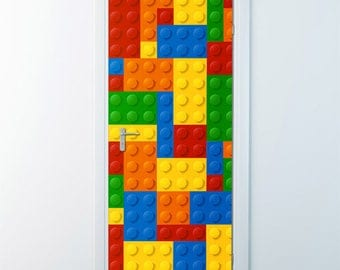 Lego Wall Decor lego wall decal | etsy