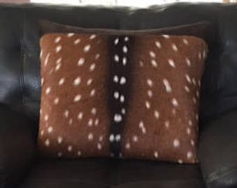 axis deer pillow
