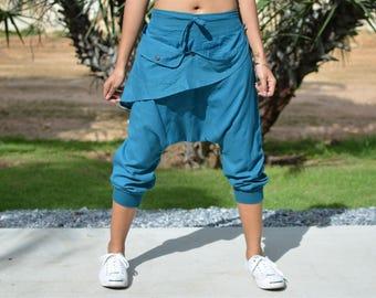 Harem pants, men, women, Yoga pants, Ninja pants, Hippie pants, handmade item