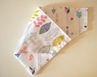 Arrows & Leaves Reversible Bandana