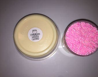 Strawberry Vanilla Custard-SCENTED-8-6oz