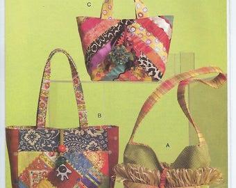 Vogue 8484 - Crazy Quilted Handbags