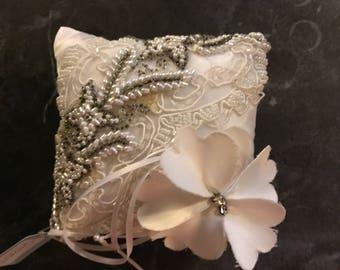 Beautiful  cream /white designer  lace