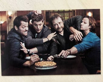 Supernatural magnet / spn magnet / I need pie magnet