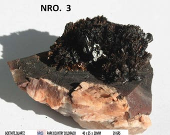 GOETHITE and quartz