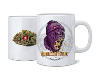Weed Coffee Cup. Gorilla Glue Weed Coffee Cup. Gorilla Glue. Coffee Mug. Cannabis Coffee Cup. Cannabis Coffee mug. Weed Coffee Mug.