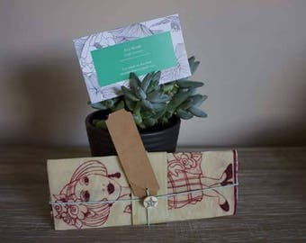 Beeswax Cotton Wrap