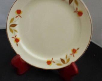Autumn Leaf Dessert Plate
