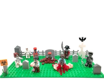 Zombie Graveyard, Custom Lego and Compatible Set