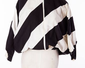 Cool Stripes Black and With Vintage Jacket