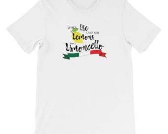When Life Gives You Lemons Short-Sleeve Mens T-Shirt