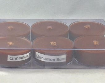 Cinnamon Buns Tealight Candle