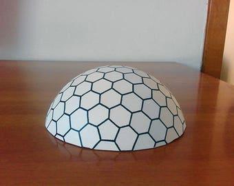 Dome miniature - Sci fi Mars Dome - Eden project - Geodesic Dome