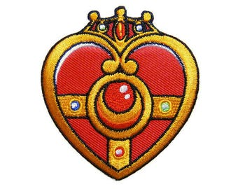 Sailor Moon Patches Cartoon Applique Embroidered Iron on Patch
