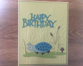 Children's Lady Bug Birthday Card
