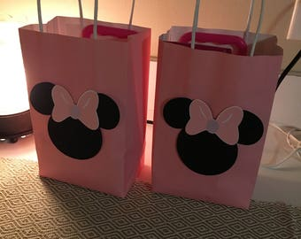 Minnie Mouse Treat Bags