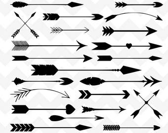 Tribal Arrow SVG | Arrow SVG | Arrow Bundle SVG Cutting File | Cutting File | Silhouette | Arrow Bundle svg | Arrows svg | Arrow Clipart