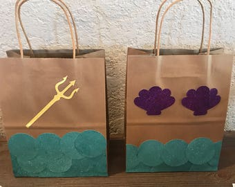 Mermaid favor bags | Etsy