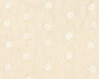Nani IRO Japanese Fabric Kokka Pocho Double Gauze - puffball - 50cm